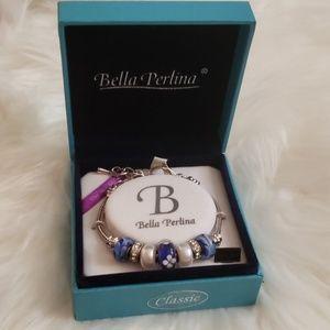 Bella Perlina Blue Silverstone Bracelet